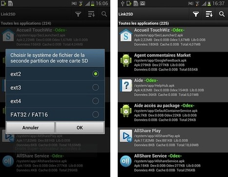 Comment augmenter la mémoire interne de votre #Android ? [Tuto] | Time to Learn | Scoop.it