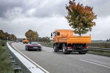 Man développe un véhicule de protection autonome pour les autoroutes   Infrastructures & Véhicules   Scoop.it
