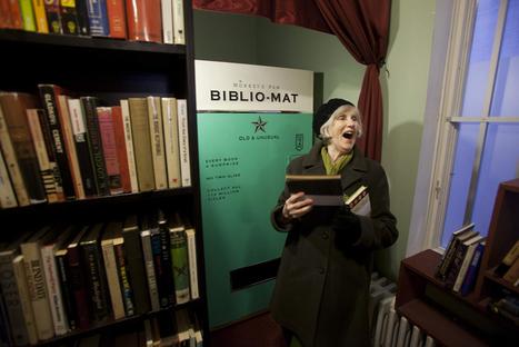 Et si on installait des distributeurs de livres aléatoires comme à Toronto ? | BiblioLivre | Scoop.it