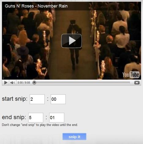 4 Online Tools To Crop and Split YouTube Videos   Technically Digital   Leren met ICT   Scoop.it