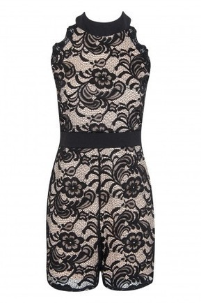 Floral Lace Lined Playsuit | Stylewise Direct | Women's Fashion Online | Scoop.it