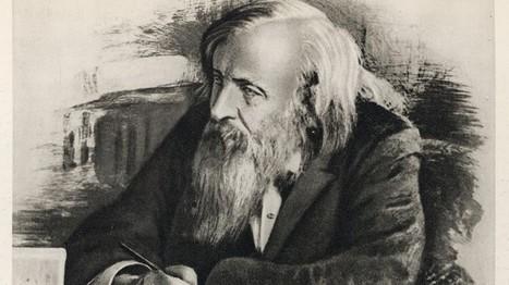 Dmitri Mendeléyev y la tabla periódica | Científicos: biología, medicina, química, geología | Scoop.it