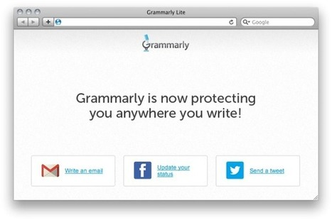 Grammarly Lite — Spellchecker Designed For The Web | Voice Recording for Productivity | Scoop.it