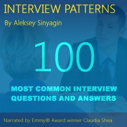 Job Interview Patterns: 100 Behavioral Interview Questions and Answers   JQuery   Scoop.it