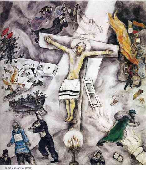 Marc Chagall White Crucifixion (1938) | European History 1914-1955 | Scoop.it