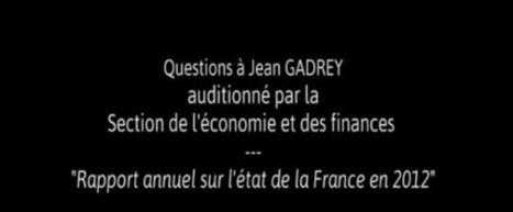 Quatre questions à Jean Gadrey Les nouveaux indicateurs de richesses | Economie du bien-être | Scoop.it