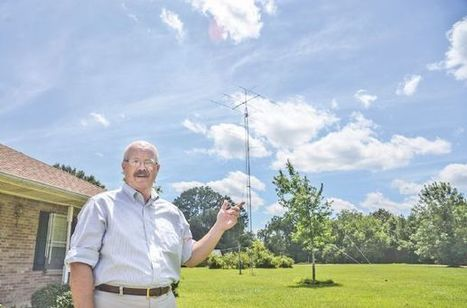 Monday profile: Lowndes County man looking to put literature on airwaves - The Commercial Dispatch | KH6JRM's Amateur Radio Blog | Scoop.it