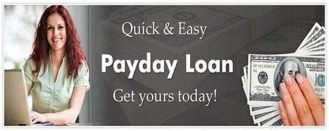 Get Instant Payday Loans in Instant Time Period | Loan for people | Scoop.it