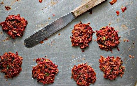 Baked Root Veggie Fritters [Vegan] | Vegetarian and Vegan | Scoop.it