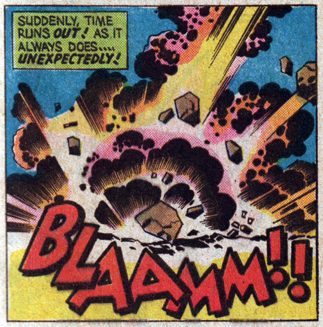 """Magen Cubed — 4cp: Jack Kirby in the 1970s. More... 