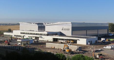 Dassault Falcon Service inaugure son usine à Bordeaux | Aéronautique-Spatial-Défense à Bordeaux et en Gironde | Scoop.it