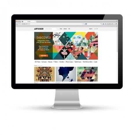 Artsider, la marketplace pour les arts graphiques   Online Marketplace   Scoop.it