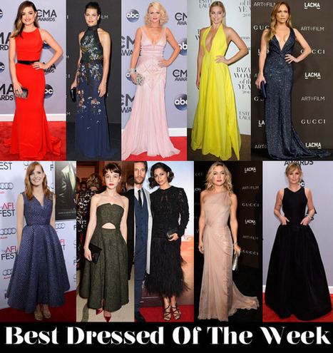 Who Was Your Best Dressed This Week? - Red Carpet Fashion Awards | Entertainment News | Scoop.it