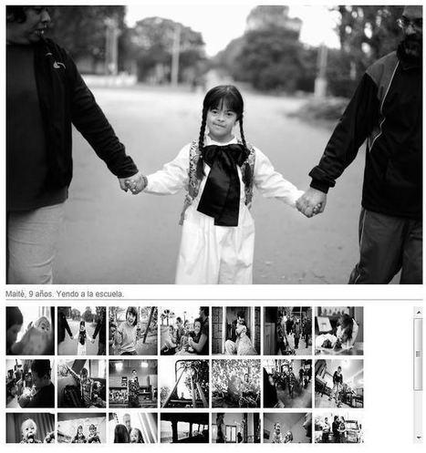 """Exposición """"Detrás de una mirada"""" de la Asociación Down del Uruguay   Detrás de una Mirada - muestra fotográfica sobre la inclusión social de las personas con Sindrome de Down   Scoop.it"""