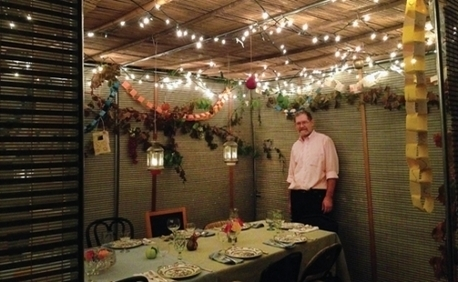 Inside the sukkah: Reflected light | Sukkot | Jewish Education Around the World | Scoop.it