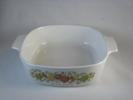 Vintage Corningware Spice of Life 2 Qt Casserole Dish P-2-b | Best Cookware Tools Review | Scoop.it