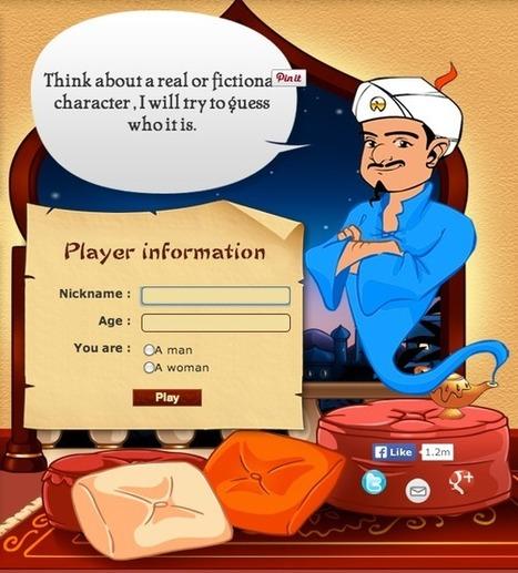 The All Knowing Akinator | Digital Play | Digital Play | Scoop.it