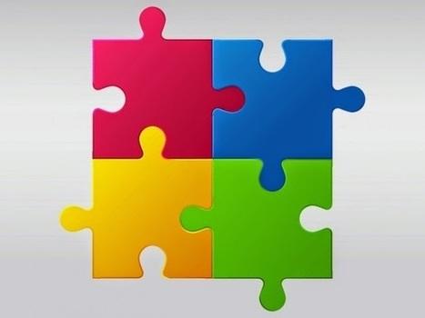 Vektörel Puzzle Logo | Vektorel cizimler | Scoop.it