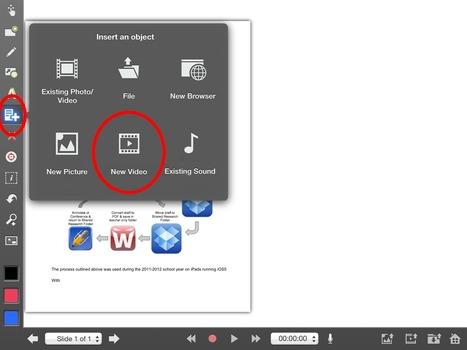 Réaliser une analyse de texte avec Explain Everything - Edulogia | Intégration du iPad au préscolaire primaire | Scoop.it