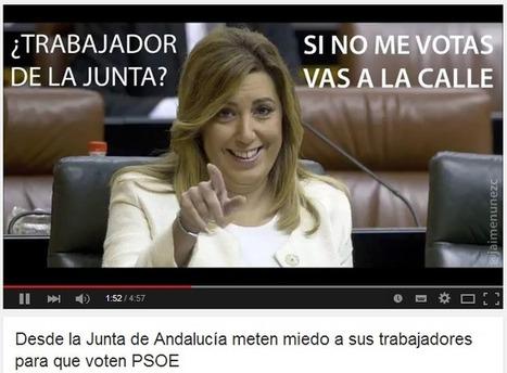 Desde Junta de Andalucía metían miedo a trabajadores para que votaran PSOE - Pillan a un interventor del PP rellenando sobres con votos en Málaga | La R-Evolución de ARMAK | Scoop.it