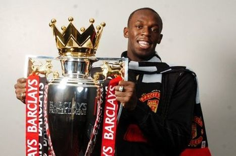 Bolt Manchester United trail: | Bolt and London 2012 | Scoop.it
