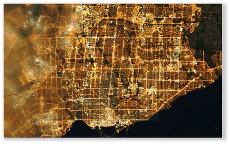 A Case Study in Environmental GIS: Light Pollution Mapping - GIS Lounge | Geomatics | Scoop.it