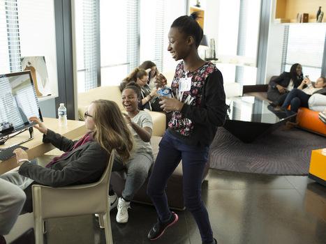 Le numérique drague les collégiennes | Jobs'TIC : emploi formation éducation | Scoop.it
