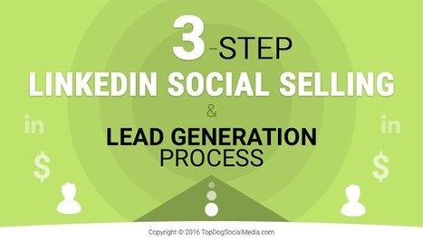 3-Step LinkedIn Social Selling & Lead Generation Process | Virtual Options: Social Media for Business | Scoop.it