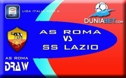 Prediksi Pertandingan Casino Online Derby Della Capitale : AS Roma Vs SS Lazio — Agen SBOBET Casino Online Indonesia | Pemasaran | Scoop.it