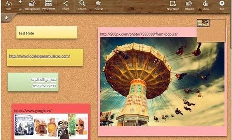 Dos aplicaciones para recopilar contenido usando paneles digitales   INTERNET Y NUEVAS TECNOLOGÍAS   Scoop.it