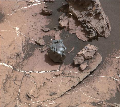 Curiosity scopre un meteorite ferroso su Marte | Marte | Scoop.it