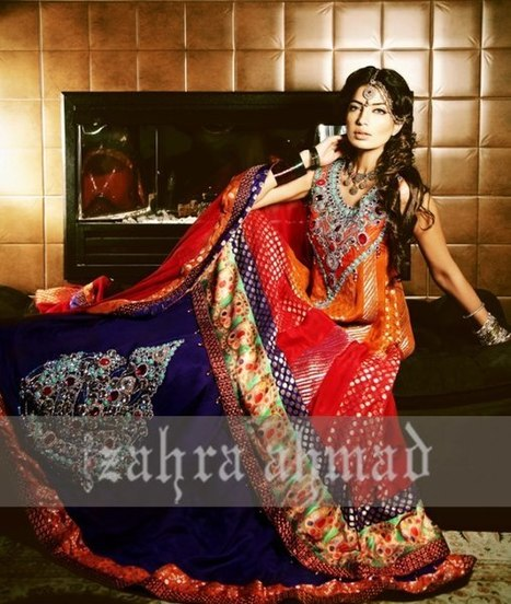 Zahra Ahmed Bridal Wear Collection 2012-2013 For Women | Waseem Noor Designer Formal Collection 2012 | Scoop.it