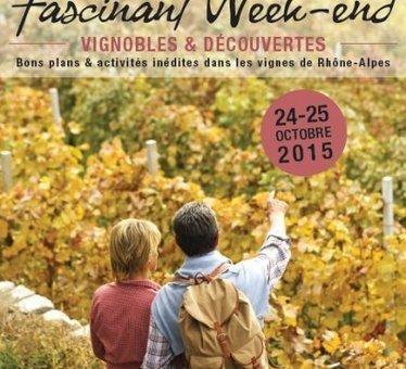 Oenotourisme: deuxième édition du «Fascinant week-end» en Rhône-Alpes | Oenotourisme | Scoop.it