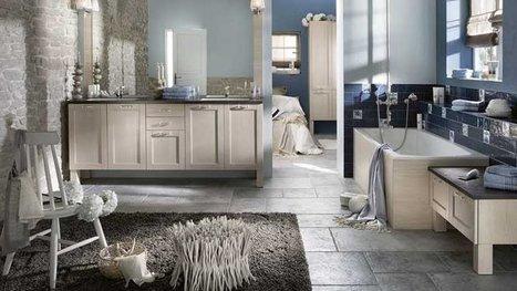 [déco] La salle de bains s'inspire du salon | Immobilier | Scoop.it