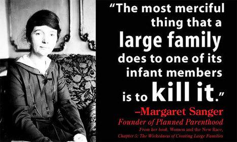 Planned Parenthood Created as 'Population Control' for Blacks | Alternative-News.tk | ALTERNATIVE-NEWS | Scoop.it
