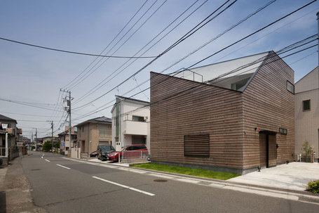 level architects' house in ofuna sports a deeply angled roofline | Inspired By Design | Scoop.it