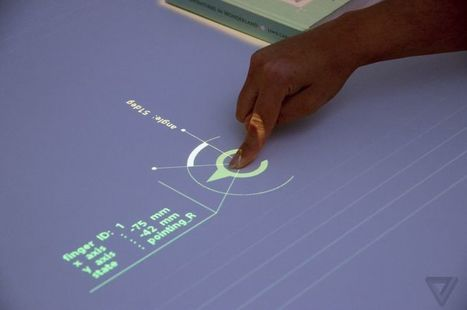 'Sony's prototype projector turns any tabletop into a touch-sensitive display' @investorseurope #technology   Technology and Financial Online Marketing   Scoop.it