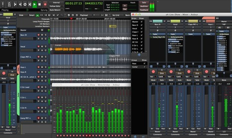 ardour - the digital audio workstation | #Linux #OSX #Freeware #Music  | Best Freeware Software | Scoop.it