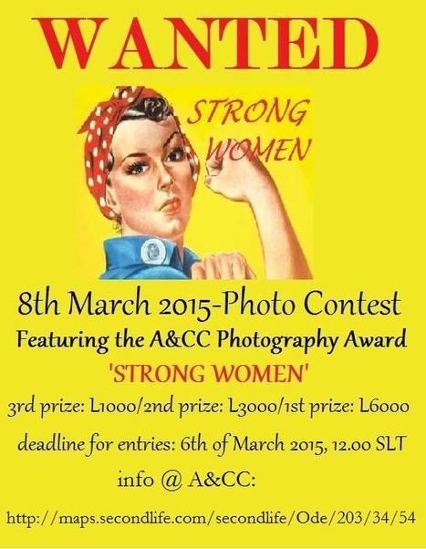 PHOTO CONTEST:THE ARTS & CULTURE COMMUNITY, 8th of March, 2015,INTERNATIONAL WOMEN'S DAY, INWORLD PHOTO | Second Life - Photography | Scoop.it