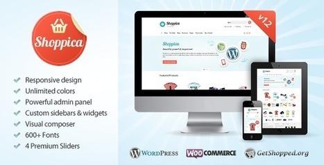 Shoppica - Responsive E-commerce WordPress Theme   Medical wordpress themes   Scoop.it