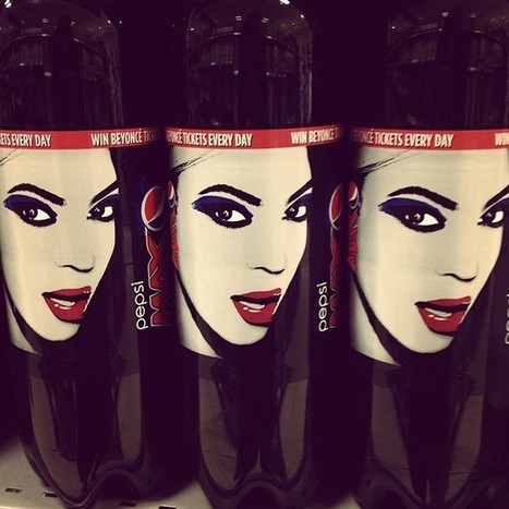 Queen B selling Pepsi #packaging #celebrities (at... | Beverage Industry News | Scoop.it