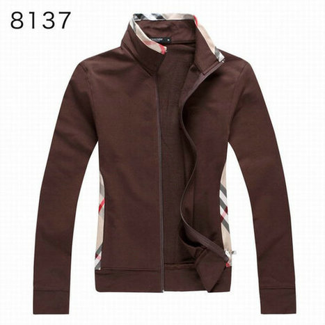 Burberry Long Sleeve Fleece Coats Sports Hoody For Girl Brown | Burberry Shirts mens and  womens | Scoop.it