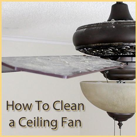 How to Clean a Ceiling Fan | Ceiling Fans | Scoop.it
