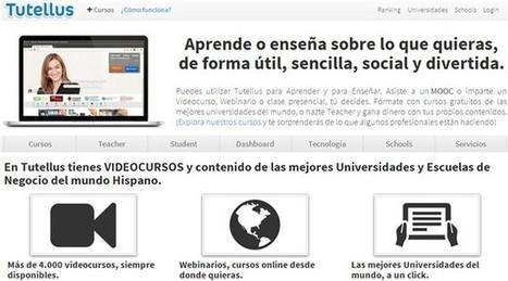 Tutellus, Videocursos y MOOCs gratuitos en español | Las TIC y la Educación | Scoop.it