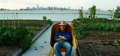 Brooklyn Grange : Une ferme sur les toits de New York  - UP Magazine   Toiture terrasse végétalisée   Scoop.it