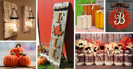 21 Fabulous Etsy Fall Decorations that are Impossible to Resist! #lumberDIY | Heartwood | Scoop.it