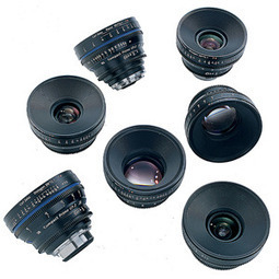 Zeiss Compact Prime CP.2 4 Lens Custom Set :: Zeiss Compact Primes :: Prime Lenses :: Film & Digital Cinema Lenses :: Lenses :: Lenses & Lens Accessories :: Equipment Sales :: AbelCine | Cinema 5D Wishlist | Scoop.it