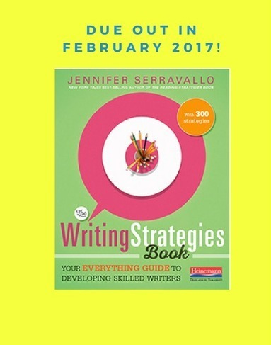 Thinking about Writing Strategies-Inspired by Jennifer Serravallo | Life as a Teacher | Scoop.it