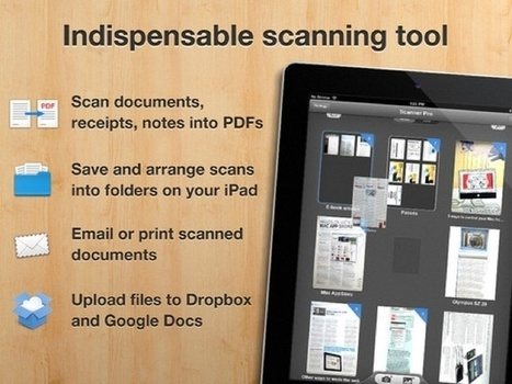 Scanner Pro Turns Your New iPad Into A Scanner And Fax | Cult of Mac | 21st Century Education for 21st Century Educators | Scoop.it