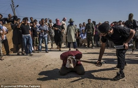 Beheaded in front of children, Obama-backed savages drag captives to their doom and butcher them like animals in some of the most brutal scenes to emerge from Syria - Atlas Shrugs | Global Problems | Scoop.it